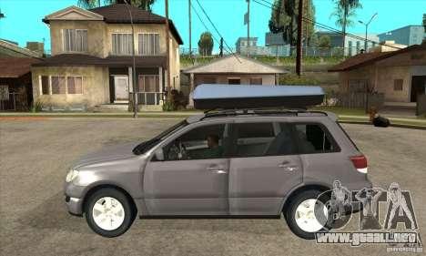 Mitsubishi Airtrek para GTA San Andreas left