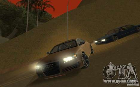 Audi RS6 TT Black Revel para GTA San Andreas