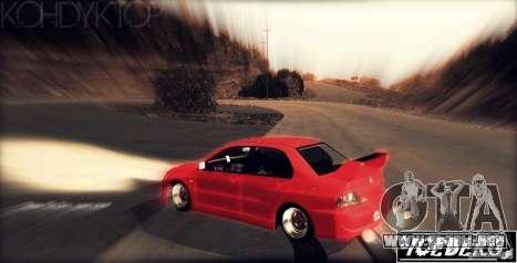 Ebisu West para GTA San Andreas segunda pantalla
