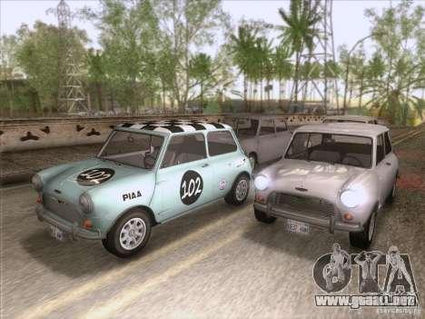 Austin Cooper S 1965 para GTA San Andreas