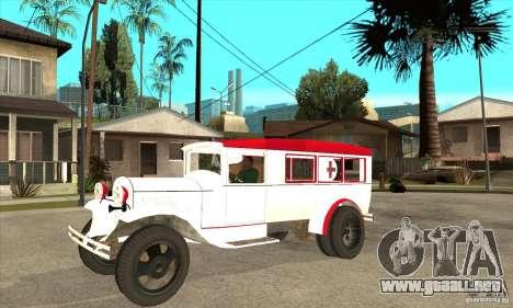 Ambulancia GAZ AA para GTA San Andreas