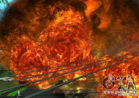 Nuevos efectos de explosiones para GTA San Andreas séptima pantalla