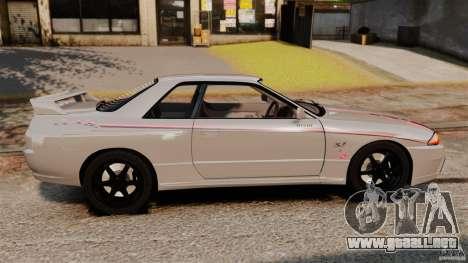 Nissan Skyline GT-R (BNR32) para GTA 4 left