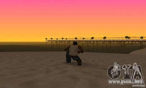 Sunshine ENB Series by Recaro para GTA San Andreas quinta pantalla