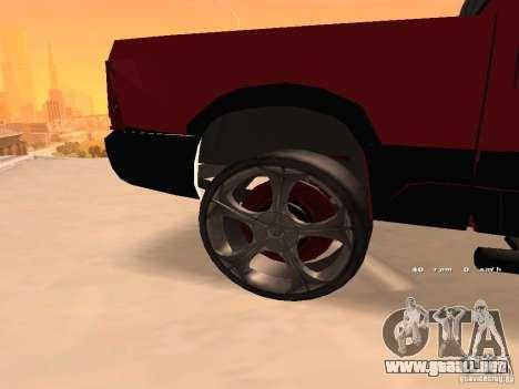 Dodge Ram 2010 para la visión correcta GTA San Andreas