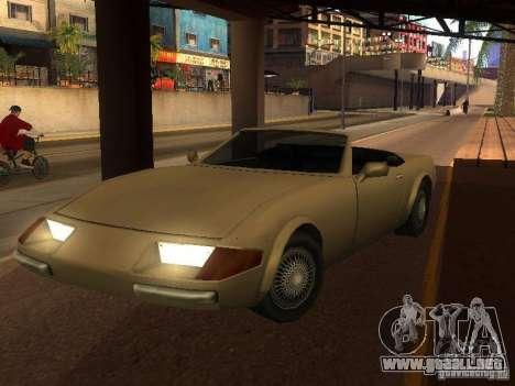 Feltzer en GTA Vice City para GTA San Andreas