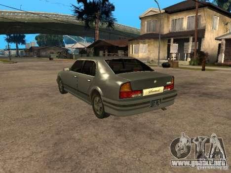 HD Sentinel para GTA San Andreas left