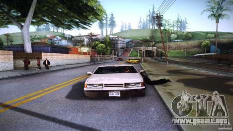 Los peatones se aferran para auto para GTA San Andreas quinta pantalla
