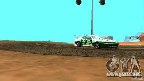 Elegy v0.2 para GTA San Andreas vista posterior izquierda
