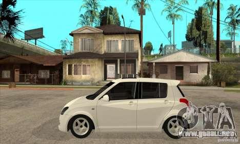 Suzuki Swift 4x4 CebeL Modifiye para GTA San Andreas left