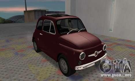 Fiat Abarth 595 SS 1968 para GTA San Andreas left