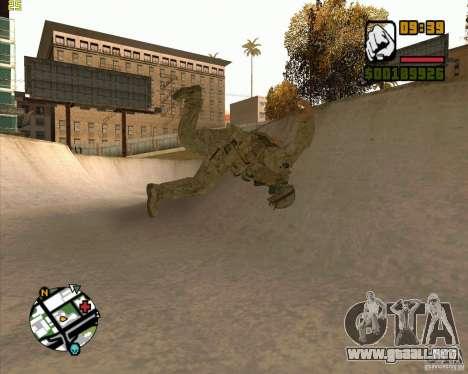 Parkour discipline beta 2 (full update by ACiD) para GTA San Andreas tercera pantalla