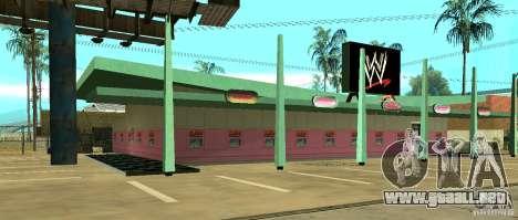 Nueva tienda de la WWE para GTA San Andreas segunda pantalla
