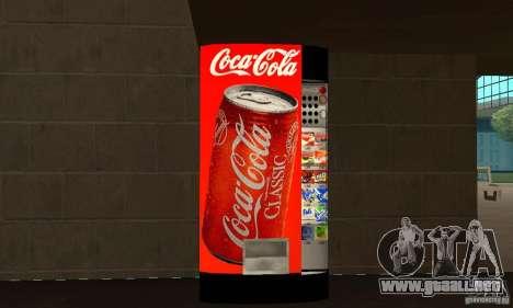 Cola Automat para GTA San Andreas