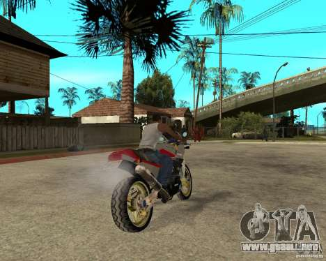 Kawasaki Ninja Tuning para GTA San Andreas