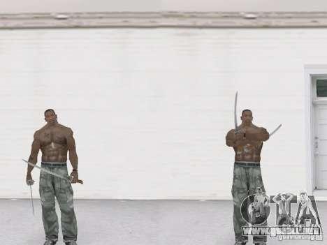 Dos katanas para GTA San Andreas