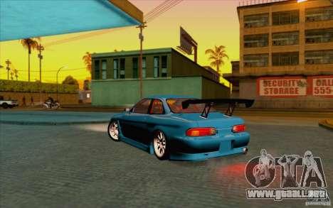 Toyota Soarer (JZZ30) para GTA San Andreas left