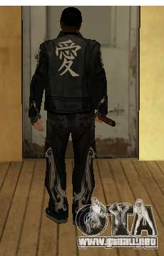 Reemplazo de pieles Yakuza para GTA San Andreas segunda pantalla