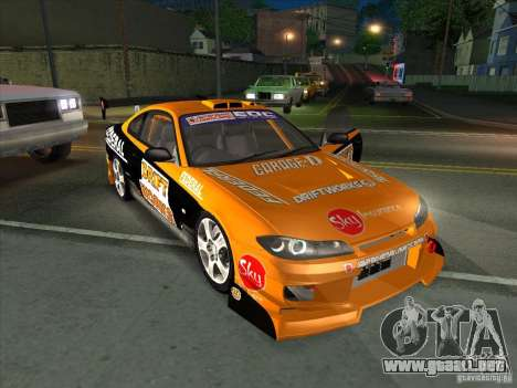 Nissan Silvia S15 Tunable KIT C1 - TOP SECRET para GTA San Andreas