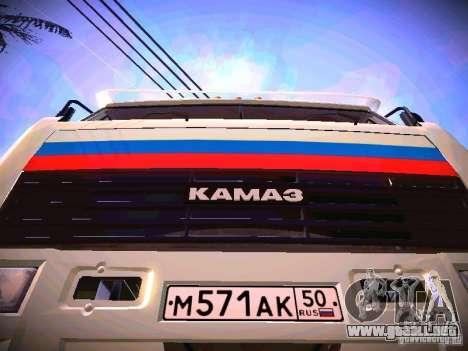 KAMAZ 54115 para visión interna GTA San Andreas