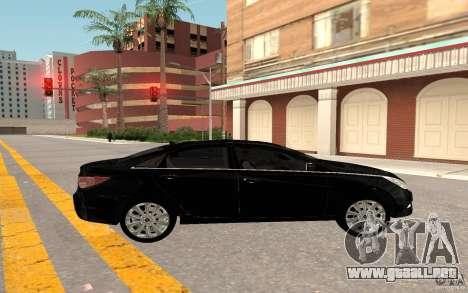 Hyundai Sonata 2012 para la visión correcta GTA San Andreas