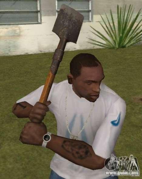 Pala para GTA San Andreas