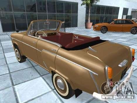Moskvich 403 Cabrio para GTA San Andreas left