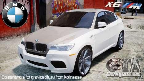 BMW X6M v1.0 para GTA 4