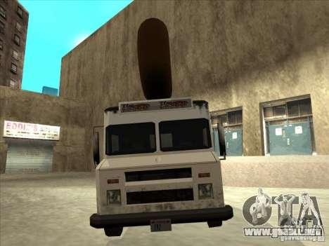 Donut Van para la visión correcta GTA San Andreas