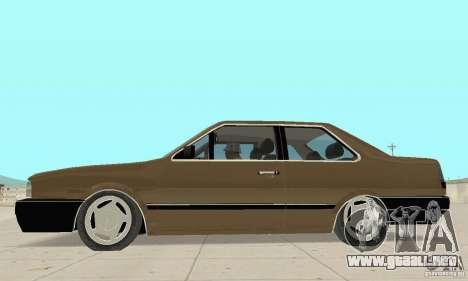 Volkswagen Santana GLS 1989 para la visión correcta GTA San Andreas