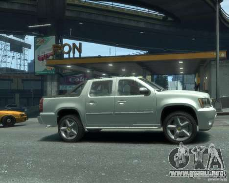 Chevrolet Avalanche Version Pack 1.0 para GTA 4 visión correcta