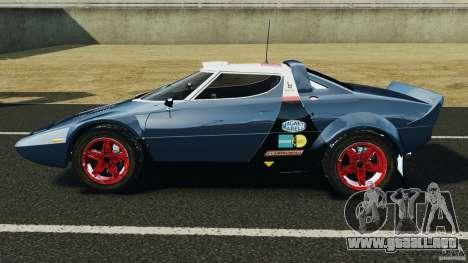 Lancia Stratos v1.1 para GTA 4 left
