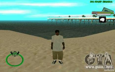 Nigga HD skin para GTA San Andreas tercera pantalla