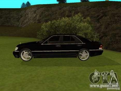 Mercedes-Benz 600 W140 para GTA San Andreas left