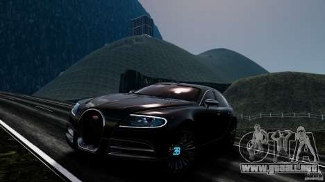 Bugatti Galibier 2009 para GTA 4 ruedas