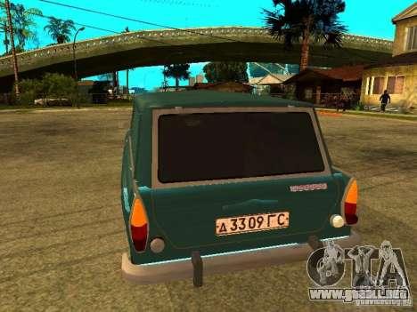 AZLK 2734 para la visión correcta GTA San Andreas