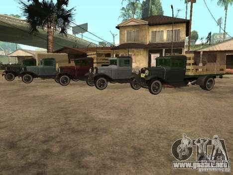 FORD AA para visión interna GTA San Andreas