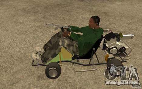 Hayabusa Kart para GTA San Andreas left