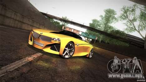 BMW Vision Connected Drive Concept para GTA San Andreas left