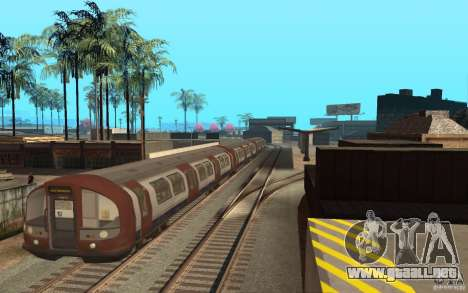 London Metro para GTA San Andreas left