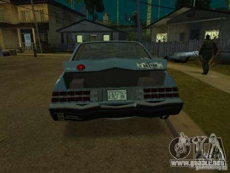 El taxi de romanos de GTA4 para GTA San Andreas left