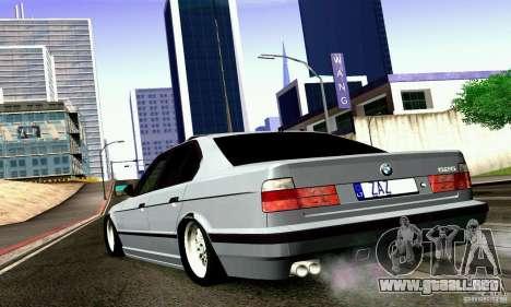 BMW E34 525i para GTA San Andreas left