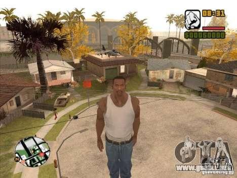 Hombres mosca-CJ estará más pronunciada que Supe para GTA San Andreas tercera pantalla