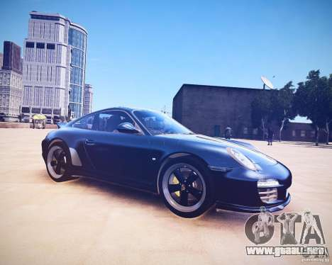Porsche 911 Sport Classic 2011 v2.0 para GTA 4 Vista posterior izquierda