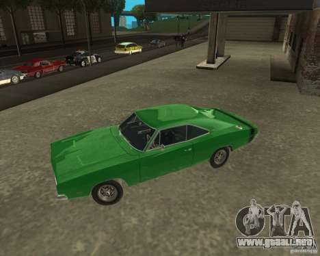 Dodge Charger para GTA San Andreas left