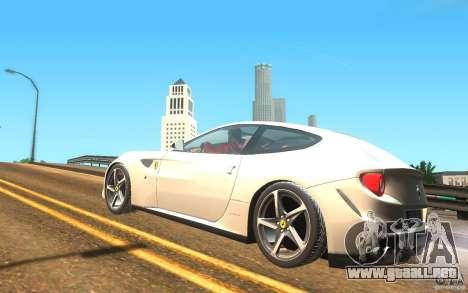 Ferrari FF para GTA San Andreas left