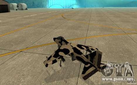 Camo Hydra para la visión correcta GTA San Andreas