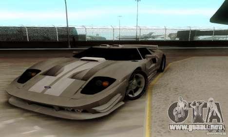 Ford GT Tuning para GTA San Andreas