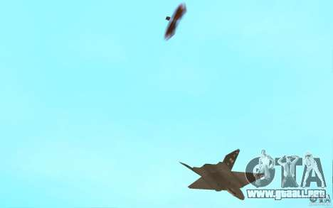YF-23 para visión interna GTA San Andreas