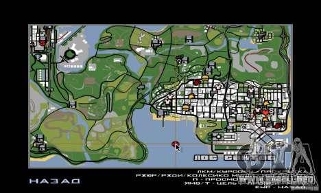 New Island para GTA San Andreas octavo de pantalla